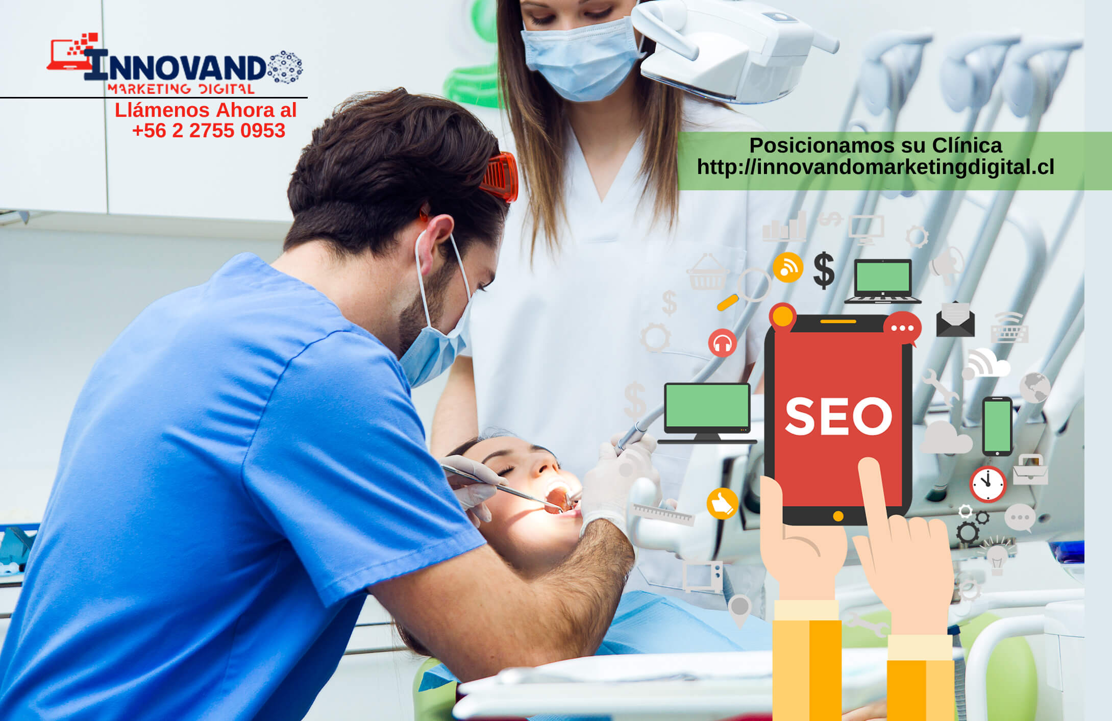 posicionamiento seo local para clinicas en chile